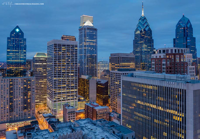 Center City Philadelphia @ Night