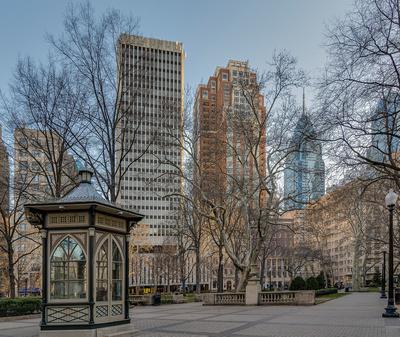 Rittenhouse Square Morning